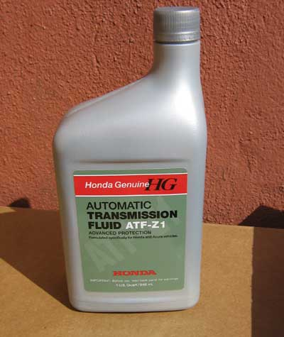 We Would Strongly Urge You To Use Only Atf Z1 For Any Modern Non Cvt Honda Transmission When Come Art S Can Be Sure That Your Will