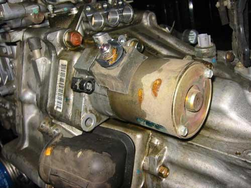 Insight Removing Engine To Repair Oil Leak
